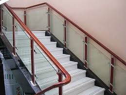 indoor stair railings staircase wooden interior railing ideas wood handrail  deck home pinterest systems kits.