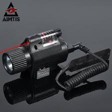 Aim Pistol Light Us 16 49 45 Off Aimtis Mini Glock Pistol Gun Light Hunting Camping Gun Lighting Equipment Flashlight Tactical Sight Red Laser Led Flashlight In