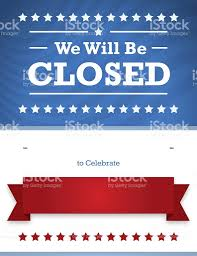 labor day closing sign template patriotic closed sign for business illustration id180136933 10 labor