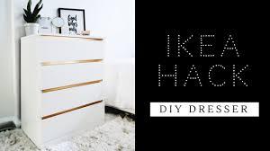 Ikea Chest Hack Easiest Ikea Hack Ever Diy Dresser Malm Dresser Youtube