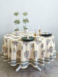tablecloth french country tablecloths kitchen