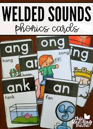 Phonics is a method of teaching children to read by linking phonemes and the letters that represent them. Welded Sounds Phonics Cards This Reading Mama