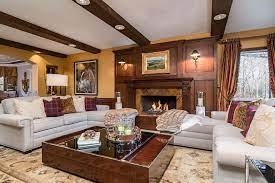 ralph lauren inspired living room