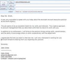 best formats for sending job search emails   cover letter format    sample letter formats  sample thank you email message