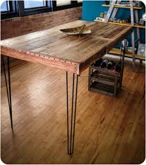 diy metal furniture. Furniture Country Style Diy Industrial Console Table Made From Reclaimed Wood And Black Metal Legs With Small Wine Storage Ideas Drawers Desk Rustic Lamp .