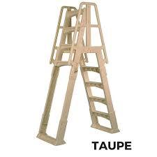 Above ground pool ladder Heavy Duty National Discount Pool Supplies Vinyl Works Sla Slidelock Aframe Above Ground Pool Ladder
