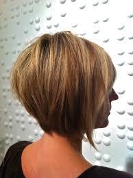 asymmetrical stacked bob haircut short hairstyles ideas