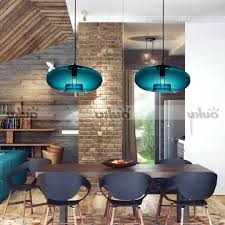 turquoise pendant lamp shade feather glass light australia lovely modern contemporary ball ceiling lighting fixture