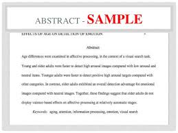 Abstract Essay Format Abstract In Essay Format About Books Essay