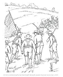 Military Colonial Soldier Coloring Pages Winter Betterfor