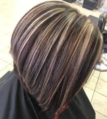 Highlights On Dark Hair