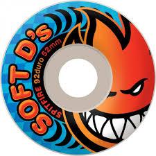 spitfire skate wheels. free delivery spitfire soft d\u0027s skateboard wheels - white 56mm (pack of skate h