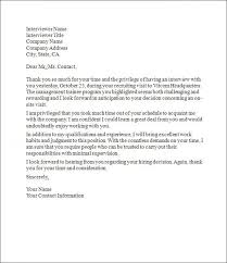 Thank You Letter After An Interview Best Solutions Of Thank You