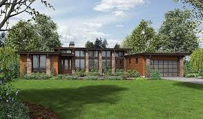 house plan 81203 modern style with