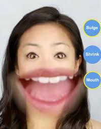 big mouth snapchat lens filter