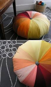 fabulous diy poufs and ottomans rainbow pouf step by step tutorials and easy patterns