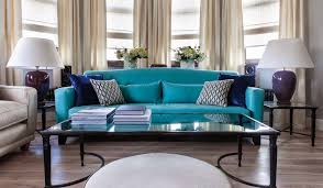 Living Room Turquoise Remodelling New Design