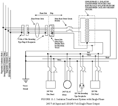 ships electrical standards (2008) tp 127 e transport canada step up transformer 3 phase 208 to 480 at 3 Phase Isolation Transformer Wiring Diagram
