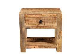 surat mango wood end table