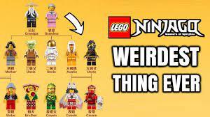The LEGO Ninjago Ninja Family Tree! - YouTube