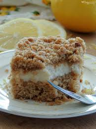 Lemon & Cream Cheese Coffee Cake