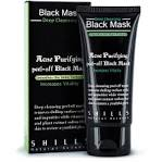 black mask face wash