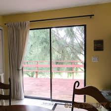 sliding glass door curtain rod size togethersandia throughout proportions 1024 x 1024