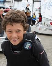 <b>Philipp Loewe</b> (Berlin) Geb. 1998 segelt seit 2007. Seit 2009 im WINNER Team - Philipp2011