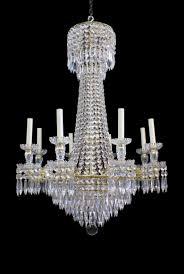 antique regency tent waterfall chandelier