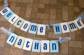 Welcome Home Baby Boy Banner Banana Lala New Baby Boy Welcome Home Banner For Nathan
