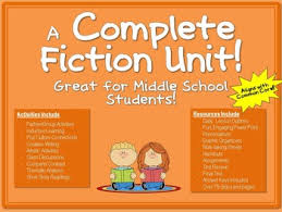 a complete fiction unit great for middle school students power  a complete fiction unit great for middle school students