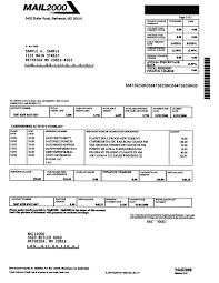 Bill Template Sample Gallery Detail Mail2000 Invoice Pitney Bowes Software Support