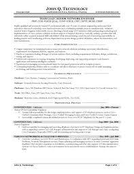 Network Test Engineer Sample Resume