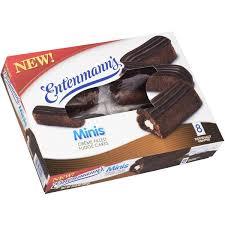 Entenmanns Minis Creme Filled Fudge Cakes 8ct Hy Vee Aisles