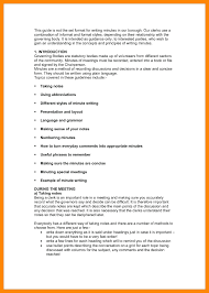 Minute Notes Template Template Minutes Of Meetings Template 9