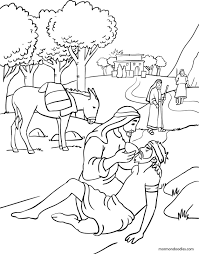 Small Picture Mormon Doodles The Good Samaritan Coloring Page Church Stuff