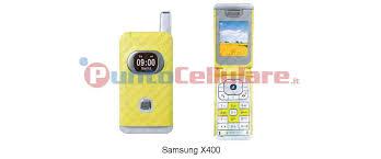 Samsung X400 - scheda tecnica ...