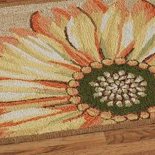sunflower round rug multi warm outdoor rugs l area cmeal big lots leather lodge patchwork cowhide