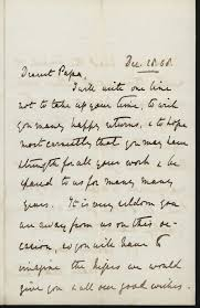 writing a victorian birthday letter instructions and more  mary gladstone to w e gladstone 28 1868 gg 603 transcription below