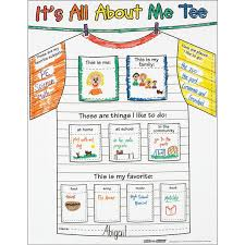 Ready-To-Decorate All About Me Tee Posters