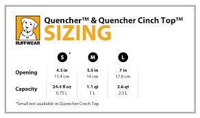 Ruffwear Size Guide