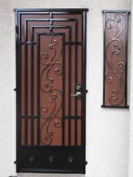 Artistic Door Design Security Doors Artistic Iron Works Ornamental Wrought