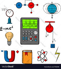 Science Physics Physics Science Icons And Objects