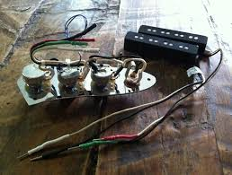 prewired j bass assembly passive rothstein guitars erless stock j bass wiring fralins