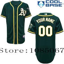 free Customize Yellow De En Jersey Personalized Baseball Y White 21 Athletics Authentic Green € Béisbol Deportes Jerseys Oakland 27 Gray