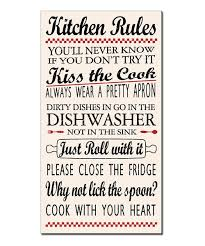My Word Kitchen Rules Sign