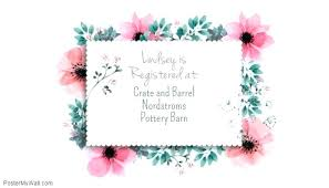 Gift Registry Template Wedding Registry Templates Card Template Gift Companiesuk Co