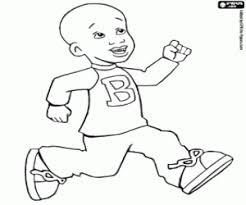 Kleurplaat Little Bill Met Zijn T Shirt Kleurplaten