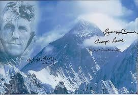 Ed HILLARY BAND LOWE WESTMACOTT EVEREST SIGNED x 4 Photo AFTAL COA  Autograph | eBay