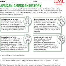 Small Picture Free Printable Coloring Pages Black History Month coloring page